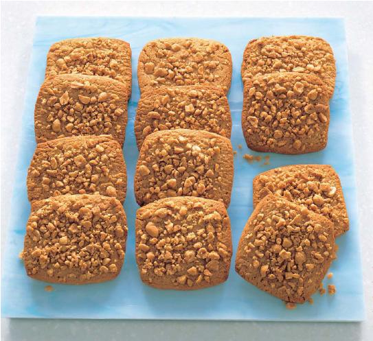 biscotti proteici al burro d'arachidi
