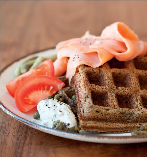 waffle senza glutine di grano saraceno