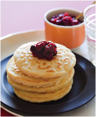 pancake al siero di yogurt