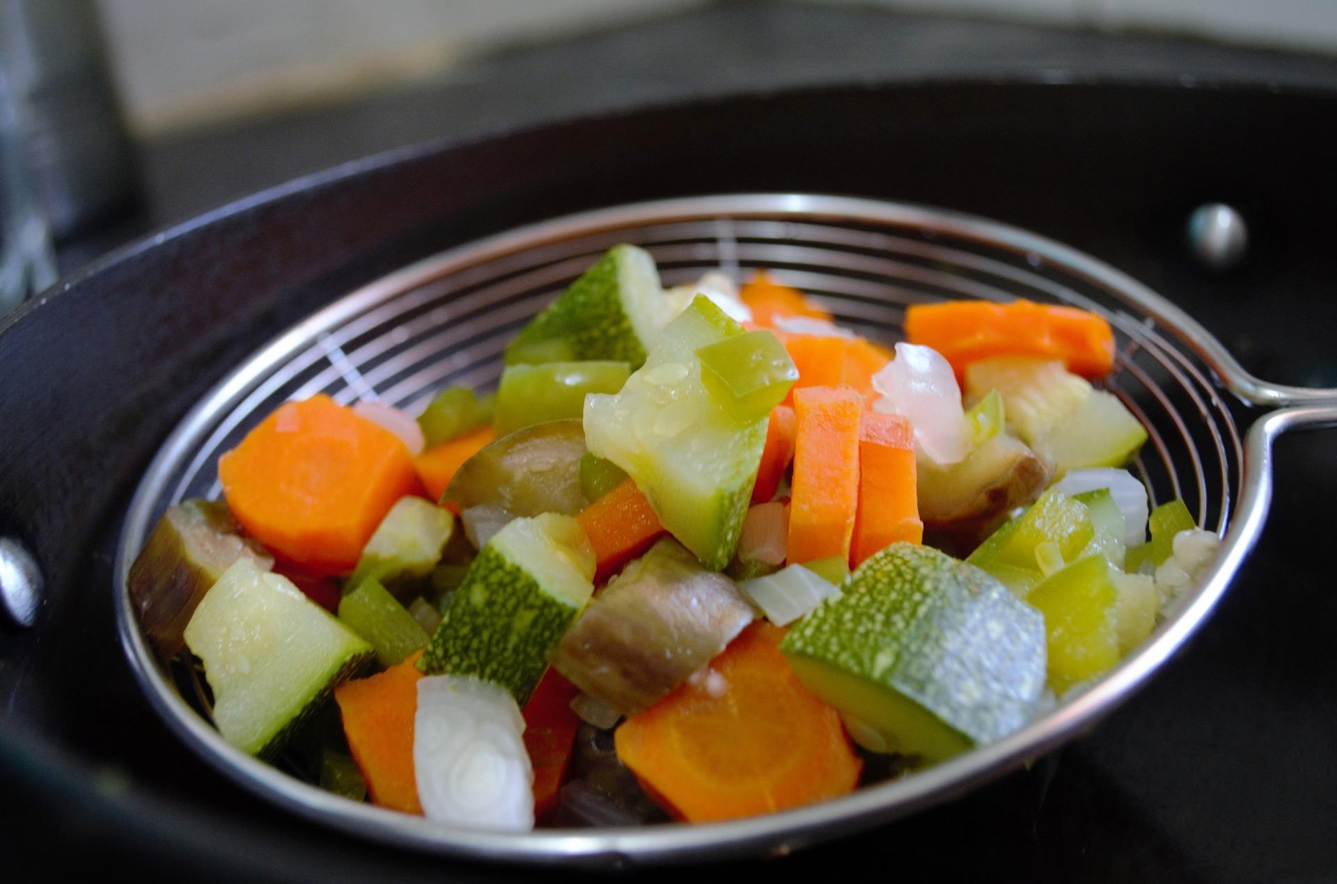 meal prep verdure