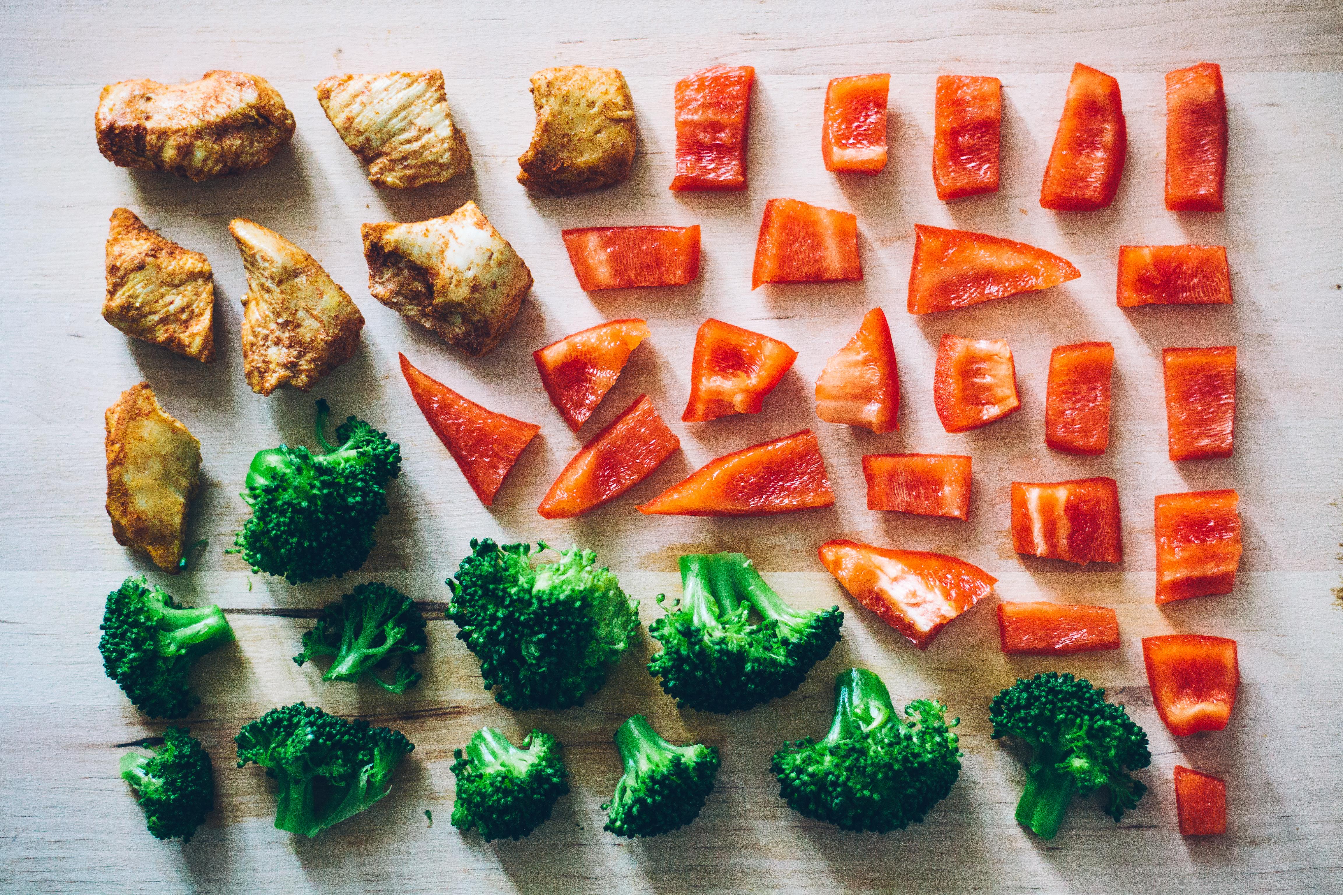 organizzazione pasti verdure