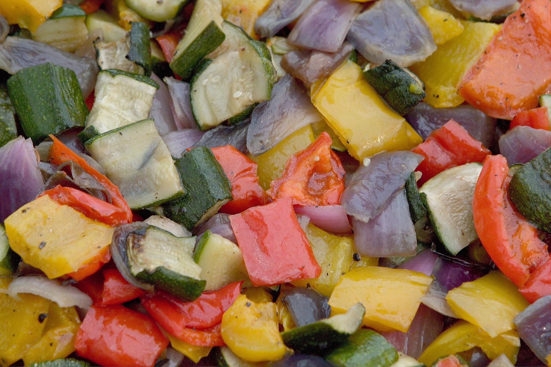 meal prep verdure al forno